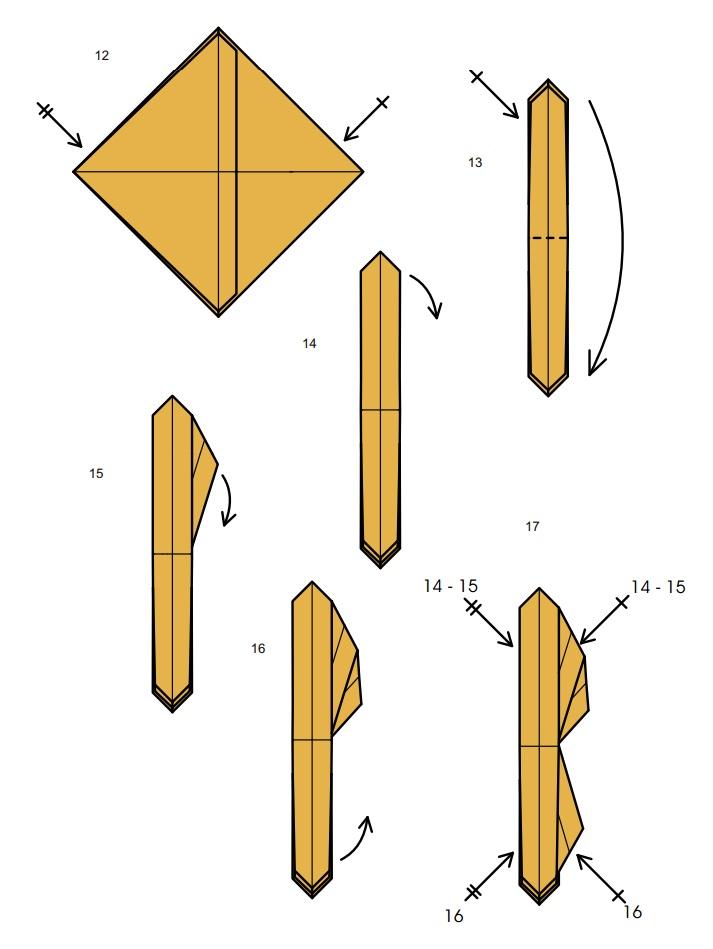 оригами тарантул3