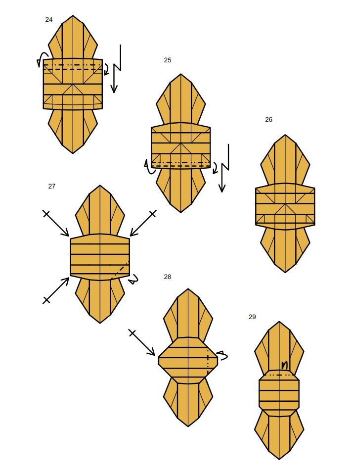 оригами тарантул5