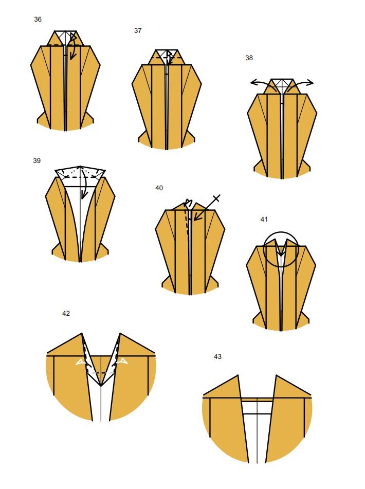 оригами тарантул7