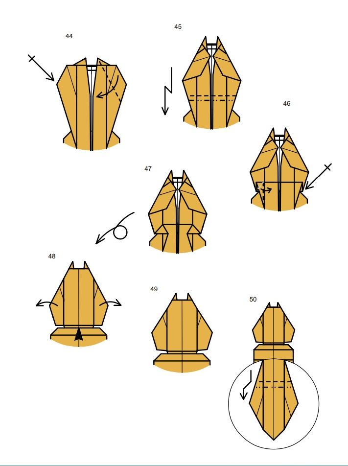 оригами тарантул8