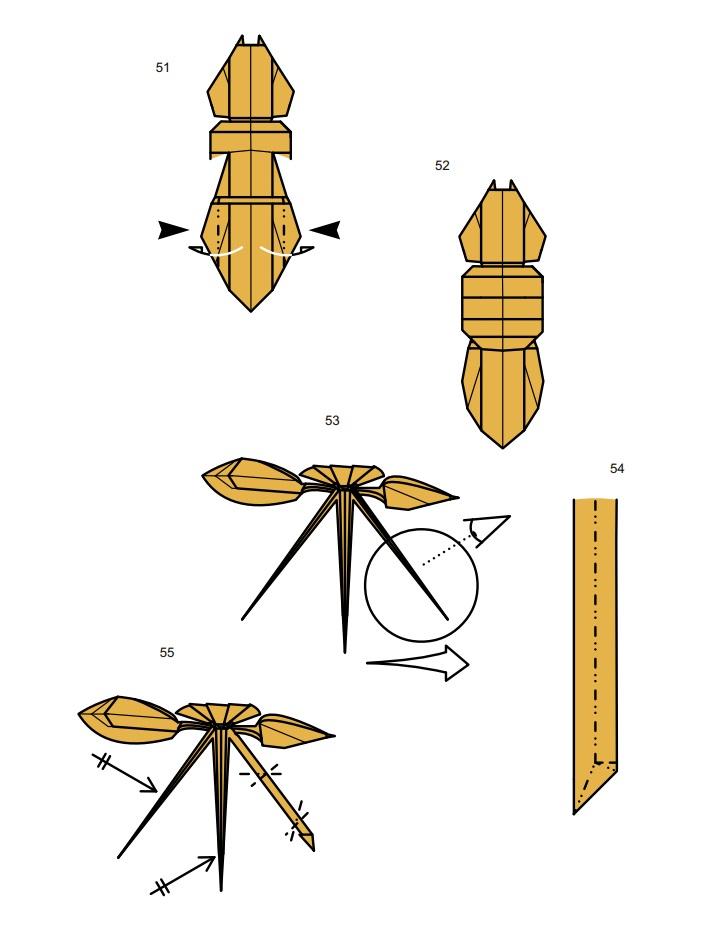оригами тарантул9