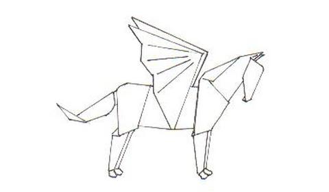 Как сделать Пегаса оригами?