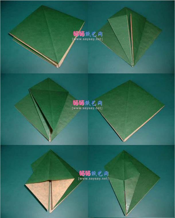 попугай оригами 1