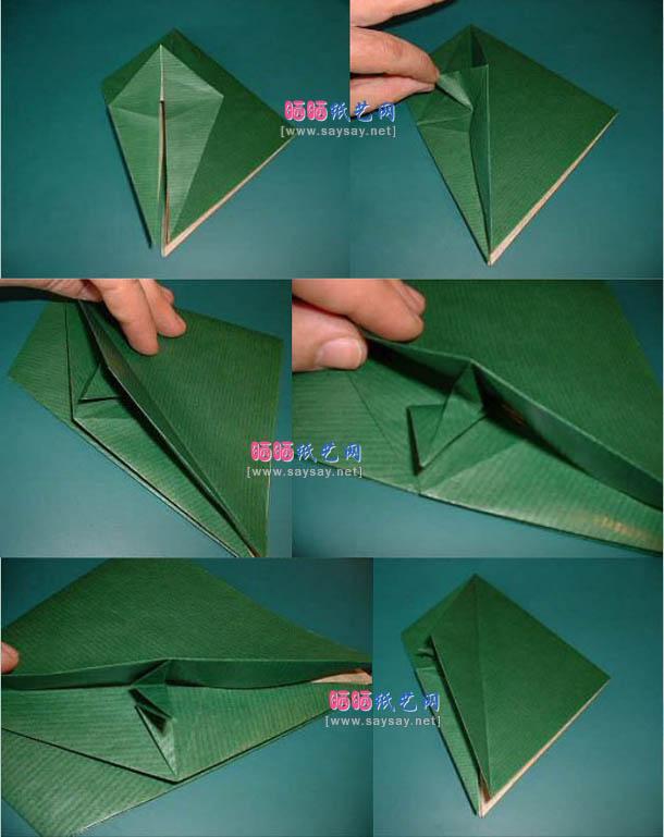 попугай оригами 2