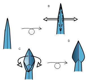 скорпион оригами 34