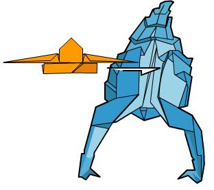 скорпион оригами 62