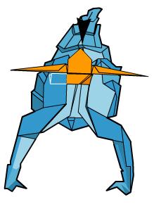 скорпион оригами 64