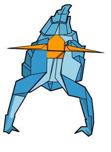 скорпион оригами 65