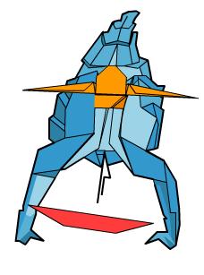 скорпион оригами 66