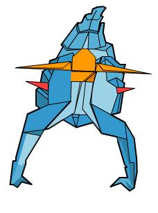скорпион оригами 67