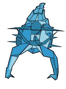 скорпион оригами 70