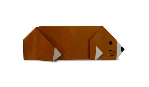 сурок оригами