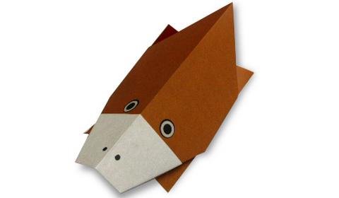 Утконос оригами