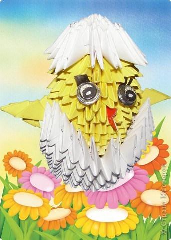 цыплёнок в яйце модульное9