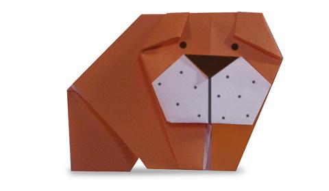 шарпей оригами