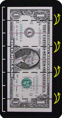 бабочка из денег 2