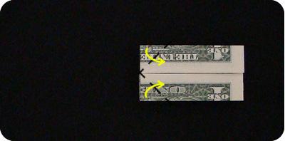 галстук-бабочка из денег 15