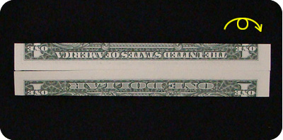 галстук-бабочка из денег 3