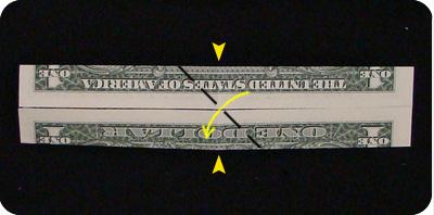 галстук-бабочка из денег 5
