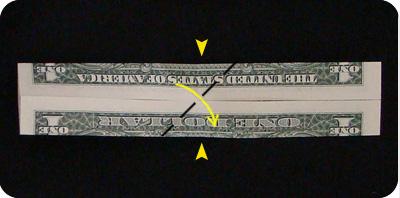 галстук-бабочка из денег 7