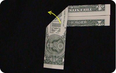 галстук-бабочка из денег 8