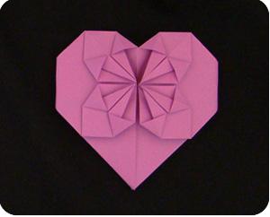 денежное сердце оригами 01