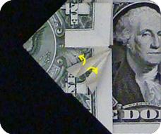 денежное сердце оригами 18