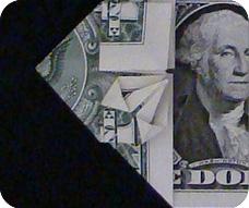 денежное сердце оригами 19
