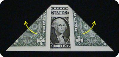 денежное сердце оригами 2