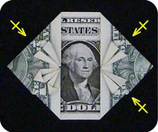 денежное сердце оригами 20