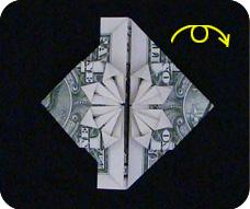 денежное сердце оригами 23
