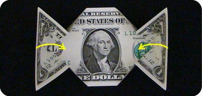 денежное сердце оригами 9