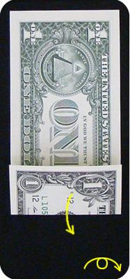 журавлик закладка из денег 7