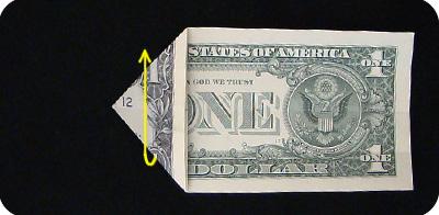 закладка с сердцем из денег 9