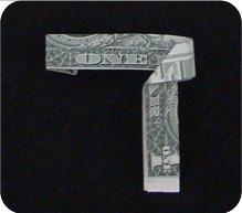 кольцо из денег 10