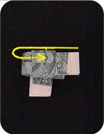 кольцо из денег 14