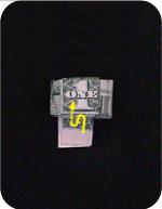 кольцо из денег 15