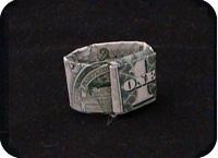 кольцо из денег 17