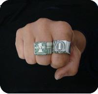 кольцо из денег 19