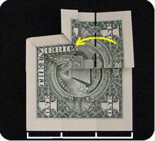 крест из денег 12