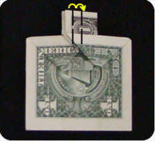 крест из денег 14