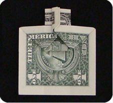 крест из денег 15