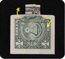 крест из денег 17