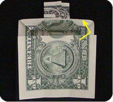 крест из денег 18