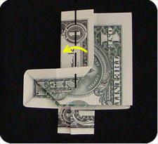 крест из денег 21