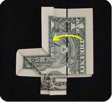 крест из денег 22