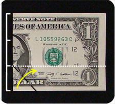 крест из денег 3