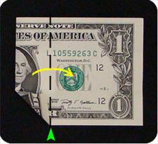крест из денег 4
