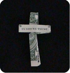 крест с надписью 22