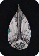 листок из денег 14